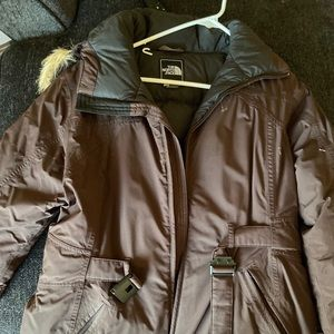 North face winter coat